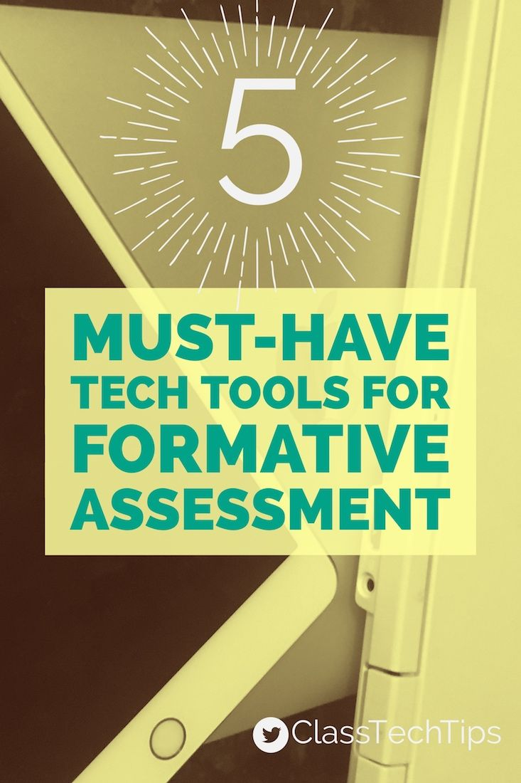 """It's so exciting to see the way that tech tools for formative assessment can transform the way """"quick checks"""" take place in the classroom."""