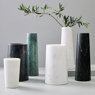 Foundations Marble Vases In 2020 Marble Vase Vase Metal Vase