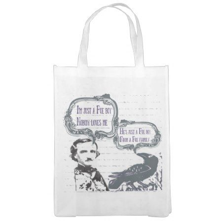 I'm just a Poe Boy Vintage Market Totes - click/tap to personalize and buy
