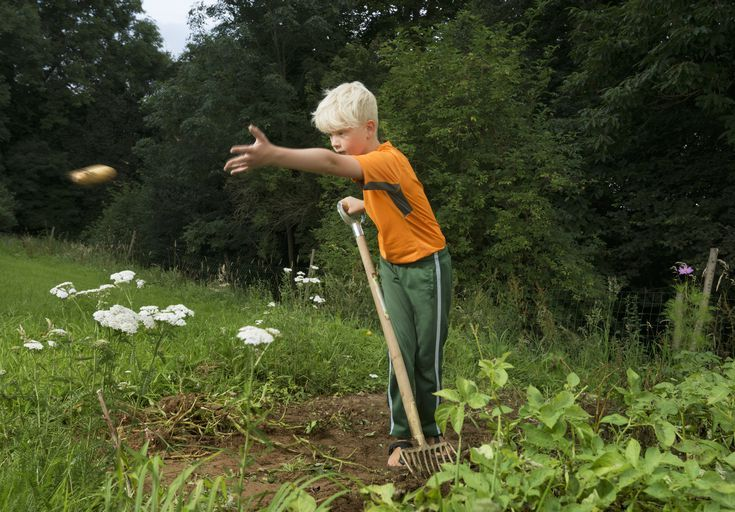 yard work jobs for 10 year olds