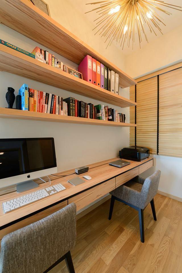 Condominium Study Room: Martin Place Residences, Classic Condominium Interior