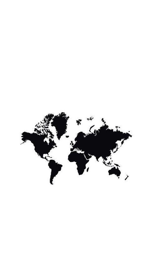 black&white, maps, and random image