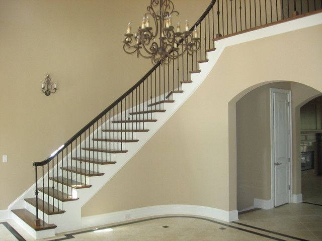 Decoration, Stair Railing Contemporary Staircase: Attractive Modern Stair  Railings As A Focal Point