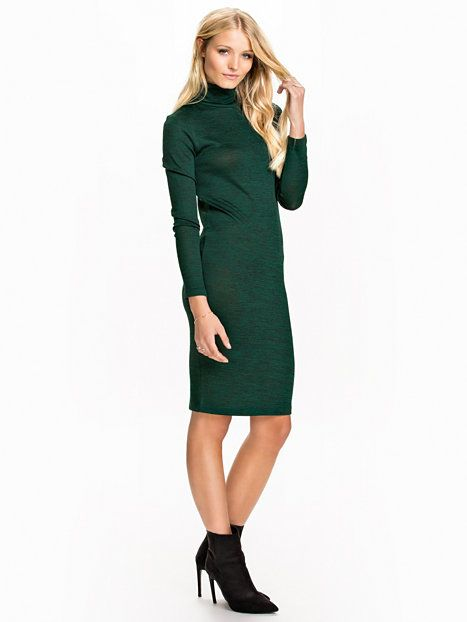 b07b5e682647 Vmbahar Ls Abk Dress - Vero Moda - Mørk Turkis - Kjoler - Tøj - Kvinde