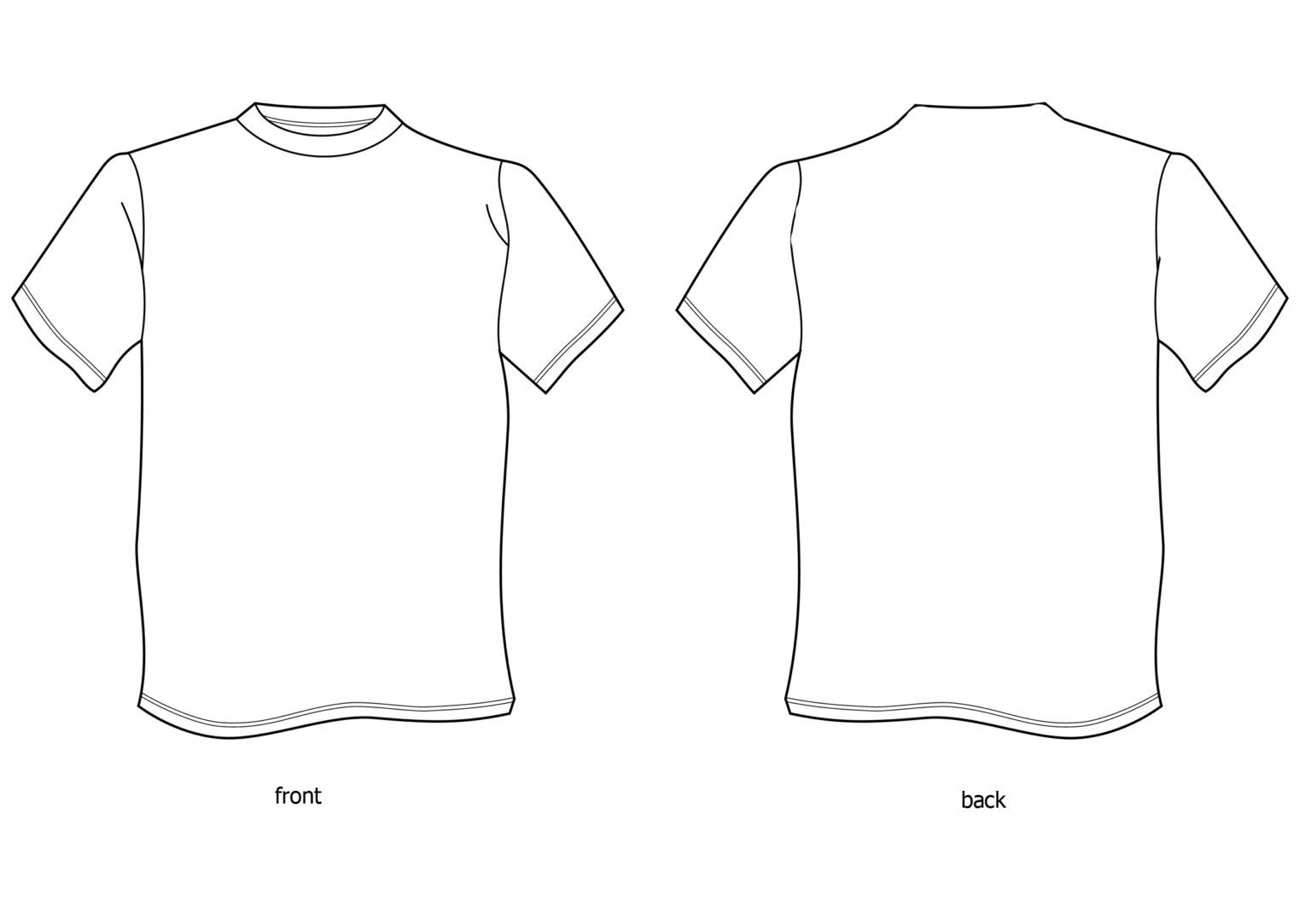 Download Free T Shirt Design Template Download Free Clip Art Free Pertaining To Blank T Shirt Design Templ T Shirt Design Template Free T Shirt Design Tshirt Template