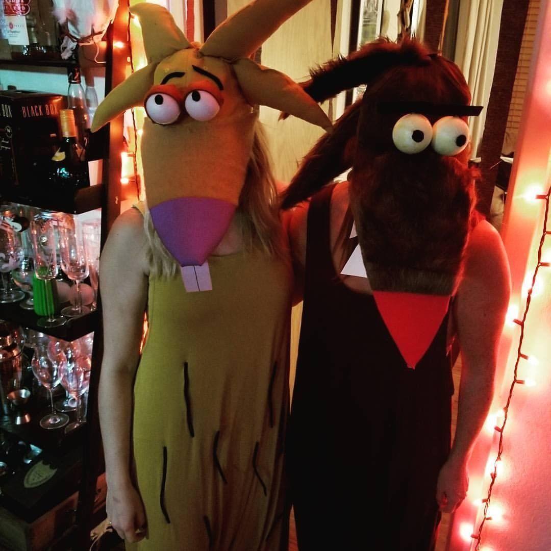 Nickelodeon Angry Beavers Halloween Costume 90s Halloween Angry