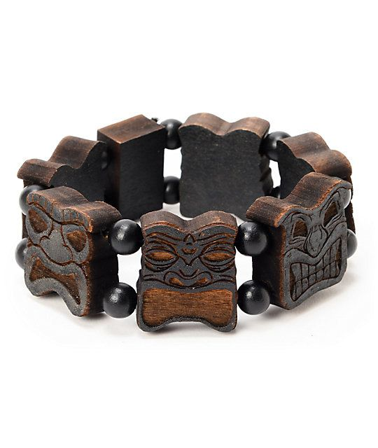 products wood from bead reserve classic brown black rosewood the dark bracelet gold matte onyx