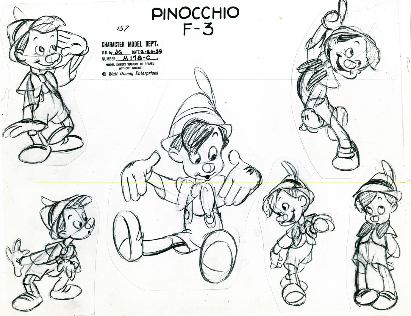Animation Character Design Spot : Walt disney s pinocchio motion pictures