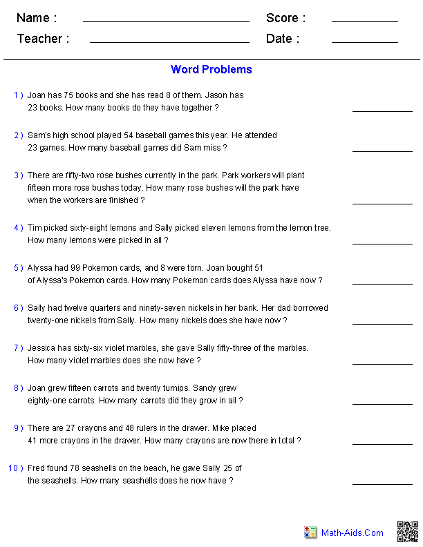Two Step Equation Word Problems Worksheets – Writing Equations from Word Problems Worksheet
