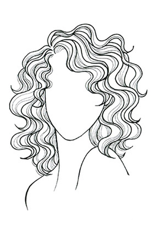 The Very Best Haircut for Your Face -   13 hair Drawing updo ideas