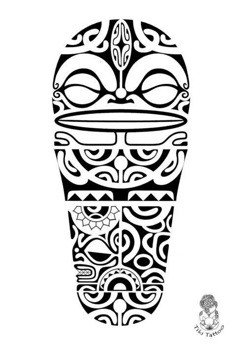 r sultat de recherche d 39 images pour tiki maorie tattoo. Black Bedroom Furniture Sets. Home Design Ideas