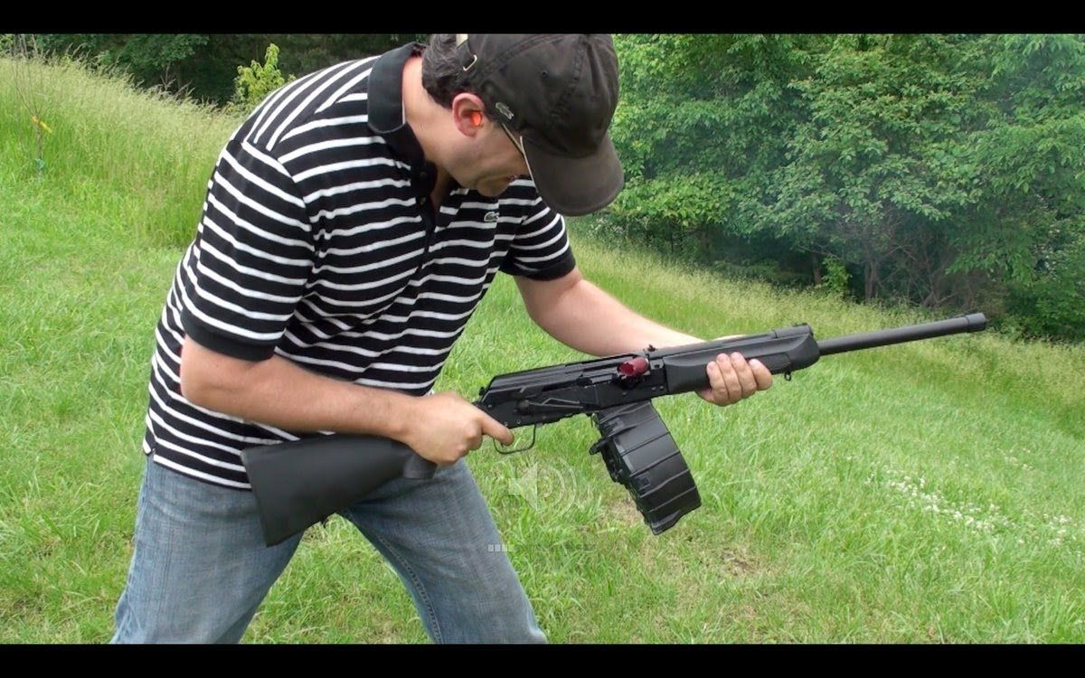 Escopeta Saiga 12 Izhmash, en Español, Escopeta Rusa Estilo Kalashnikov
