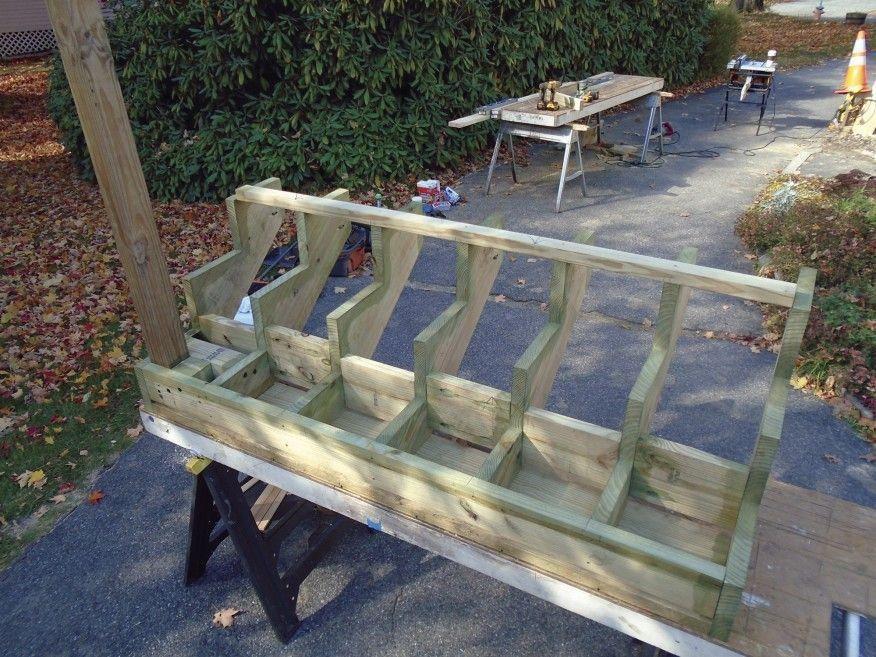 Prefabricated Stair Stringer Kits Professional Deck Builder