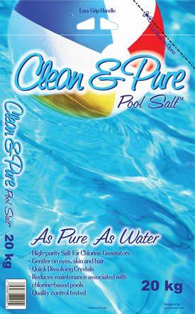 Pool Salt Clean And Pure Pool Salt Specifically Engineered For Pools Using Pool Salt Chlorine Generators Salt And Ice Salt Pool