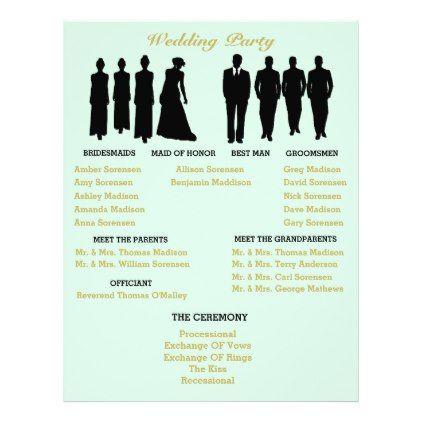 Mint And Gold Heart Polka Dot Wedding Flyer - gold wedding gifts - wedding flyer