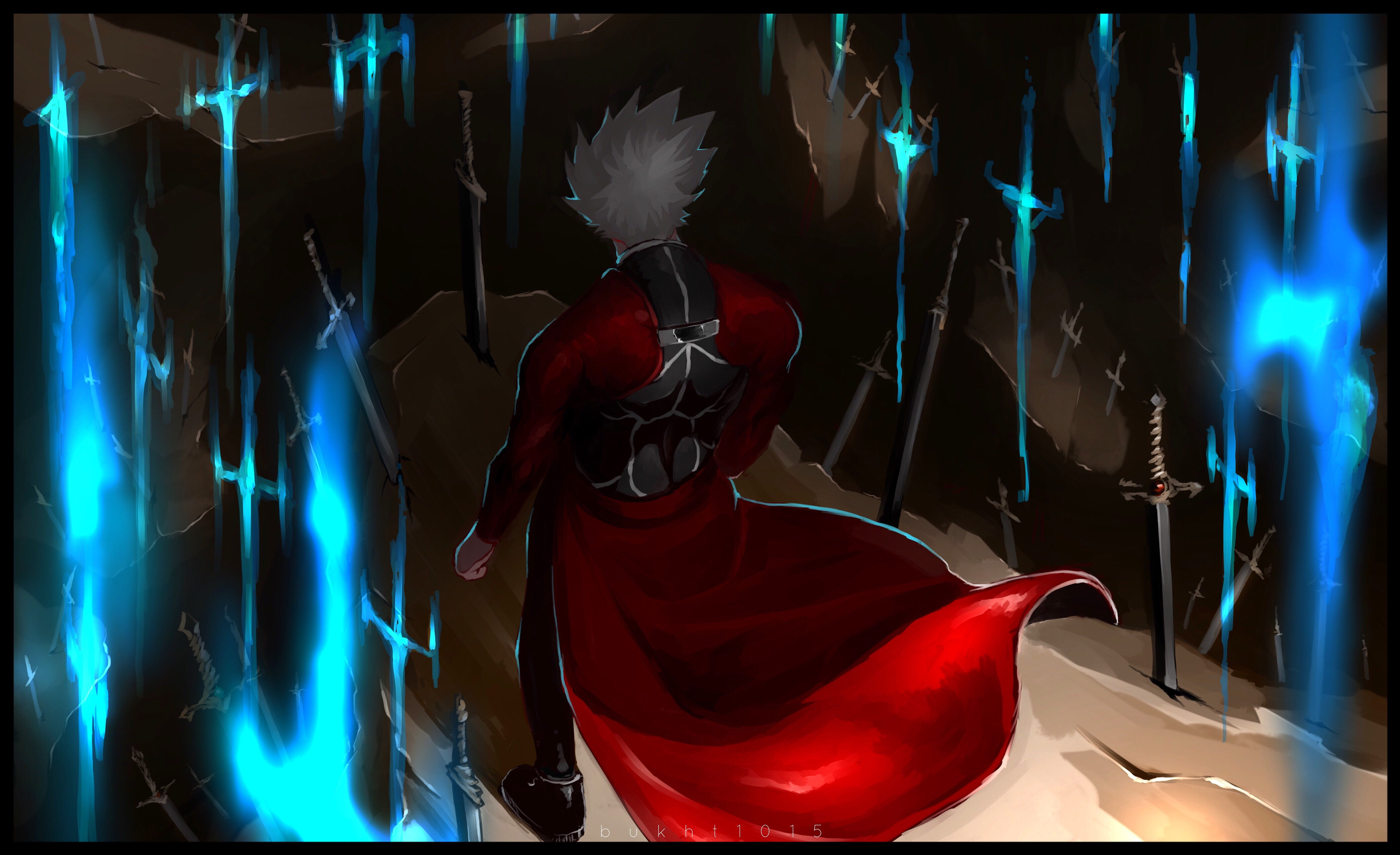 Fate Series Fate Stay Night Unlimited Blade Works Archer Fate