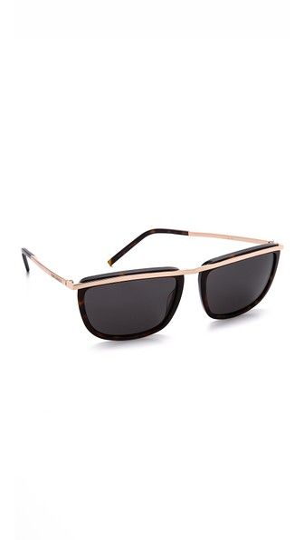 04919acd282e96 Saint Laurent Metal Stripe Sunglasses   eyewear   Pinterest