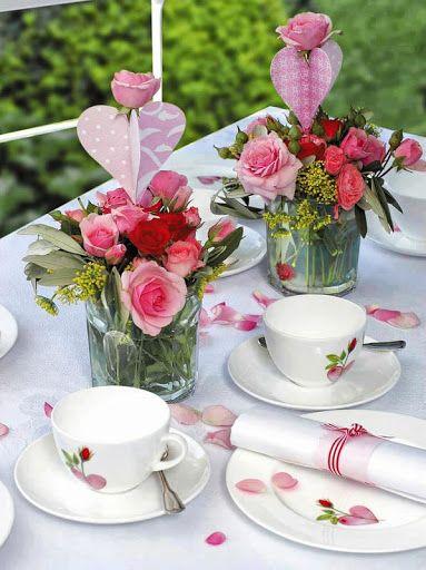 Bouquets! Garden tea