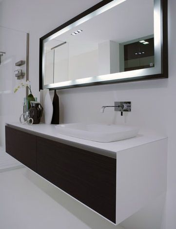 Shopping For A Bathroom Mirror Qb Blog Modern Bathroom Bathroom Mirror Modern Bathroom Mirrors