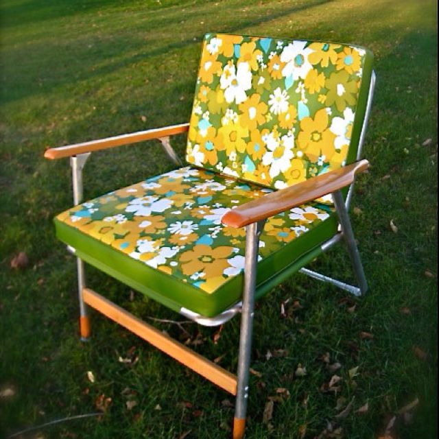 Vintage Lawn Chair Retro Patio Furniture Outdoor Chairs Lawn Chairs