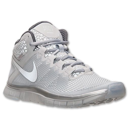 finest selection 1dec5 2feb3 Men s Nike Free Trainer 3.0 Mid Shield Training Shoes   FinishLine.com    Pure Platinum Reflective Silver