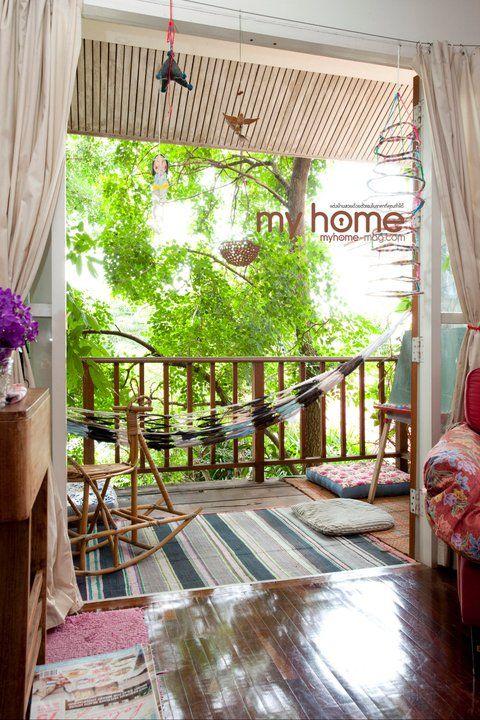 balcony - Um yes   Home Design   Patio balcony ideas ...