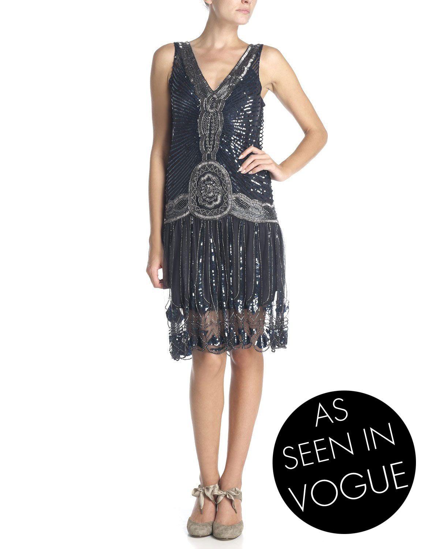 1920s Flapper Dress From Jigsaw Love It Stijl Jaren 20 Stijl