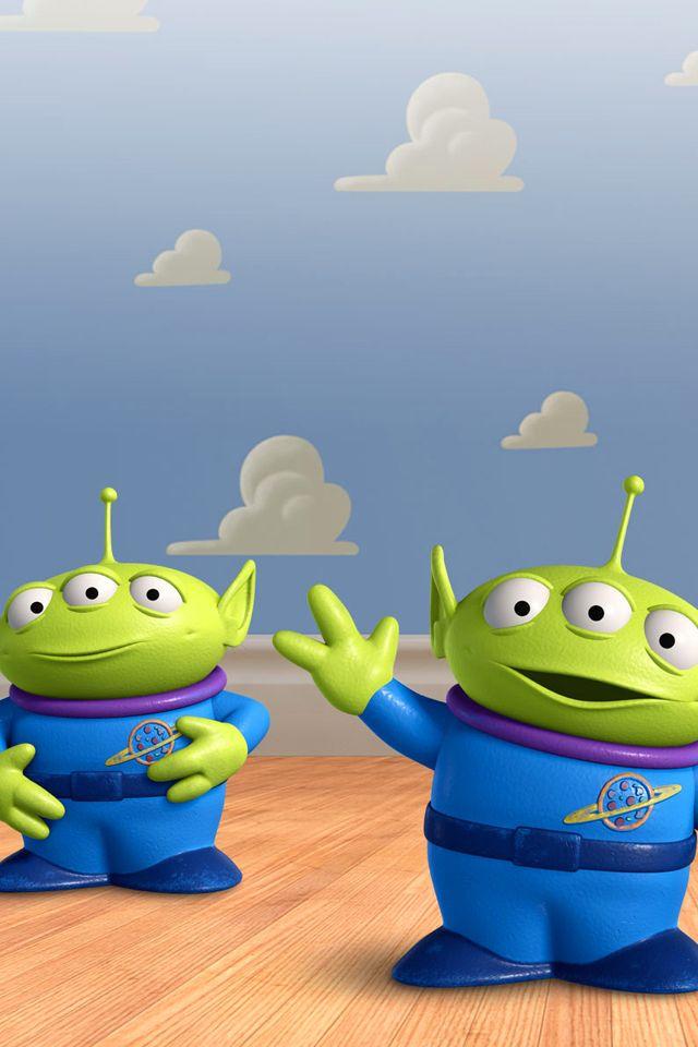 Toy Story Aliens Png 640 960 Pixels Wallpaper De Desenhos Animados Brinquedo Historia Filmes Pixar