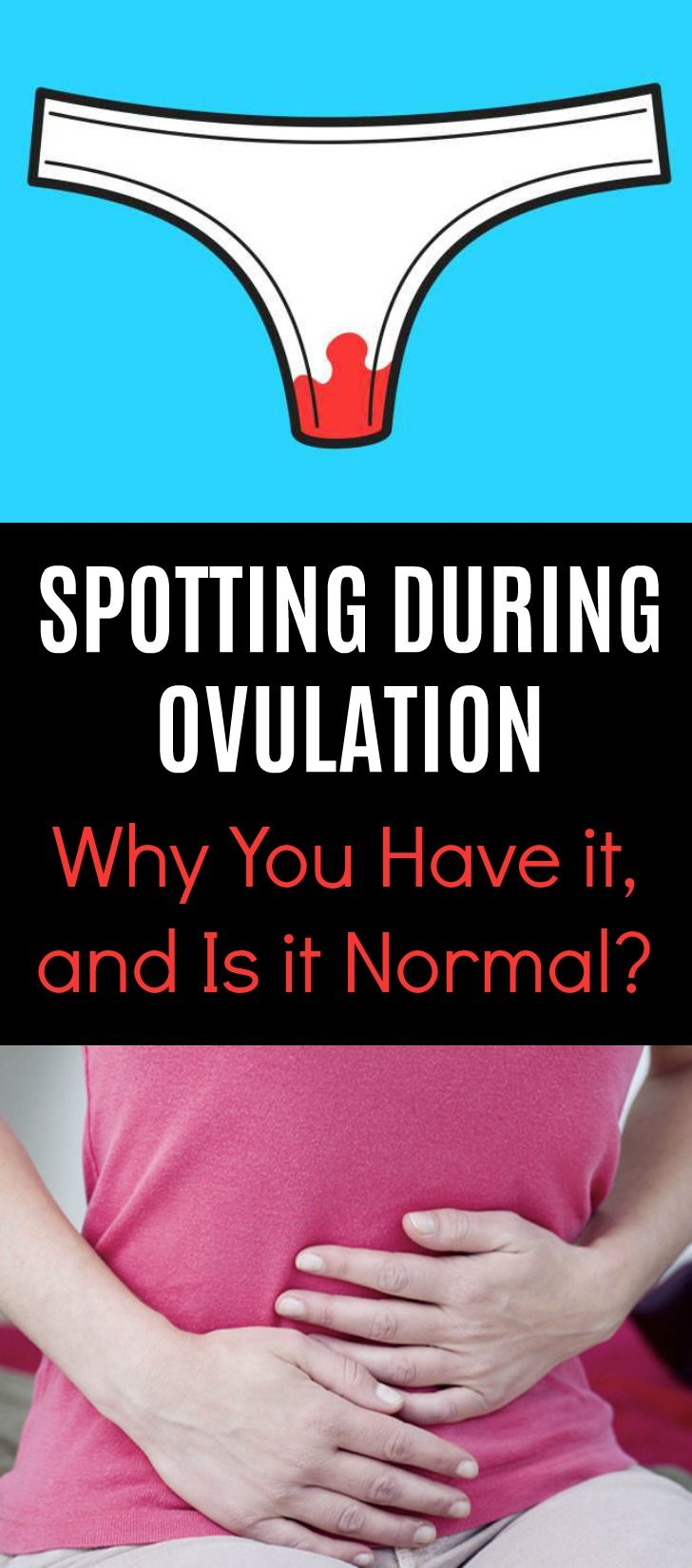 Spotting During Ovulation: Why You Have it, and Is it Normal