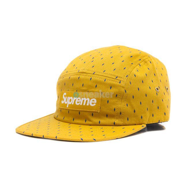 cc9419629fc Supreme Diamond Camp Cap - Gold