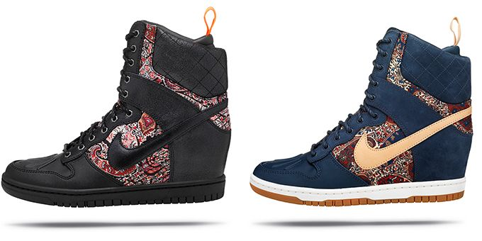 Nike x Liberty of London winter collection 2013 / rostyleandlife.com