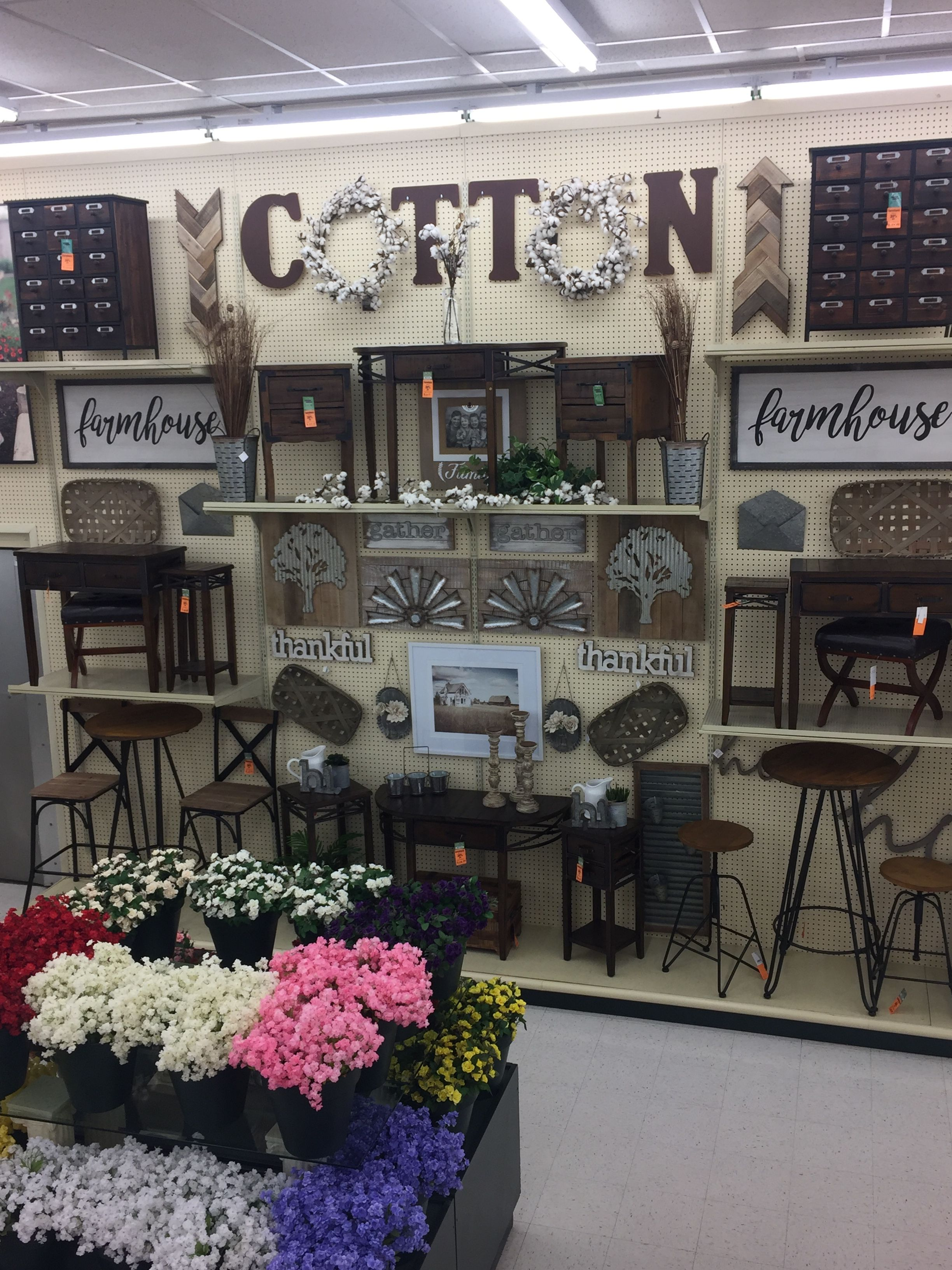 Cotton Rustic farmhouse decor