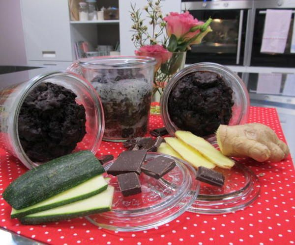 Sweet Easy Enie Backt Brownie Im Glas Kuchen Pinterest