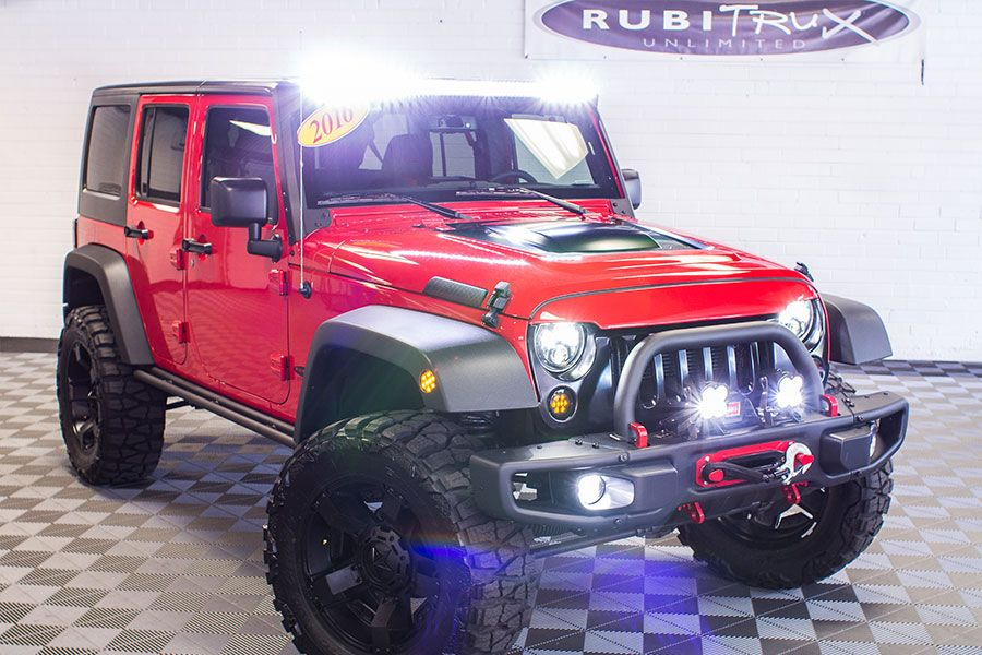 2016 Jeep Wrangler Sport Unlimited Firecracker Red (With