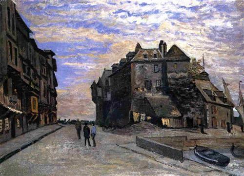 TheLieutenancyatHonfleur - Claude Monet