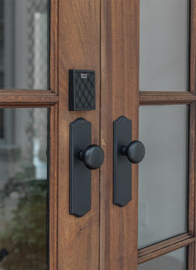 Heights House Smart Locks Home Features Smart Lock Front Door Handles Entry Door Handles