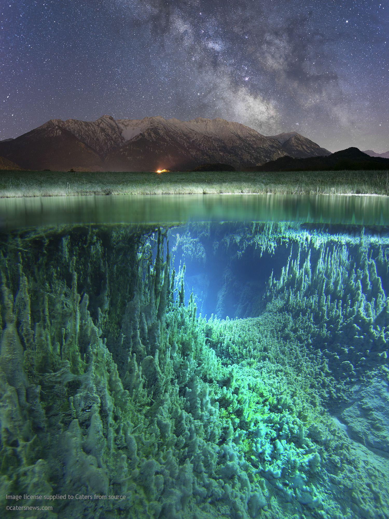 ausmalbilder natur landschaft wald berge meer insel