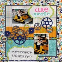 A Project by BabyBokChoy from our Scrapbooking Gallery originally submitted 03/29/12 at 08:30 PM