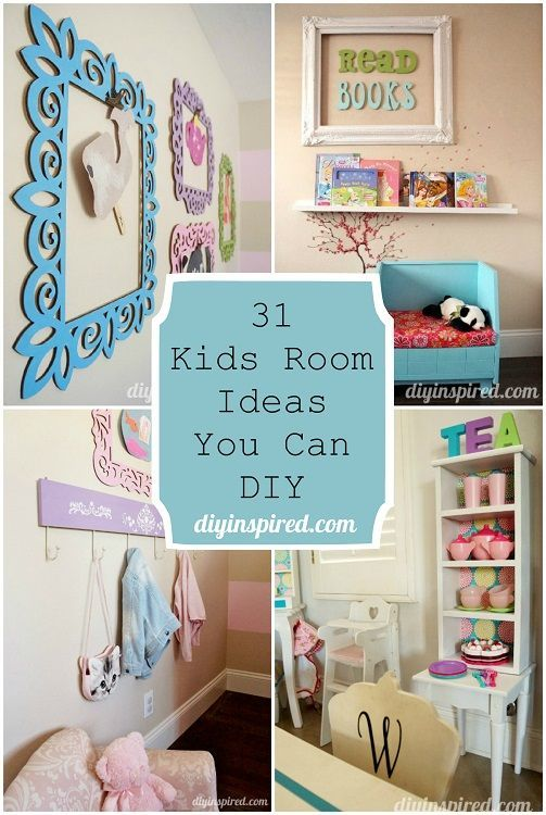 31 Kids Room Ideas You Can Diy Bloggers Best Diy Ideas Kids