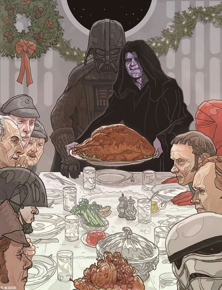 Happy Thanksgiving to all the galaxy .....