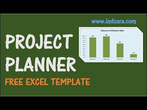 Project Planner Excel Template - Free Project Plan Template for - it project plan template