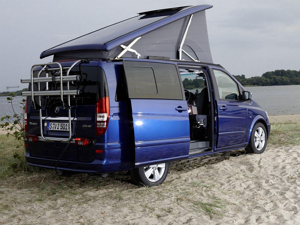 mercedes benz sprinter caravan concept viano fun viano marco polo van life. Black Bedroom Furniture Sets. Home Design Ideas