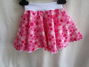 014000db1c74 Detské oblečenie - Sukňa bodky - 8251511
