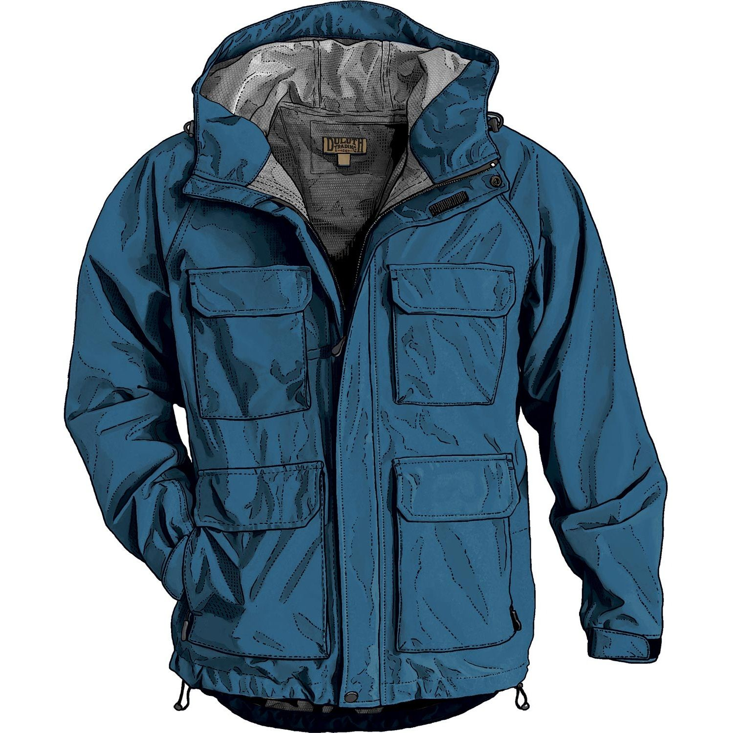 Men's No-Rainer Waterproof Rain Jacket - Duluth Trading | Duluth ...