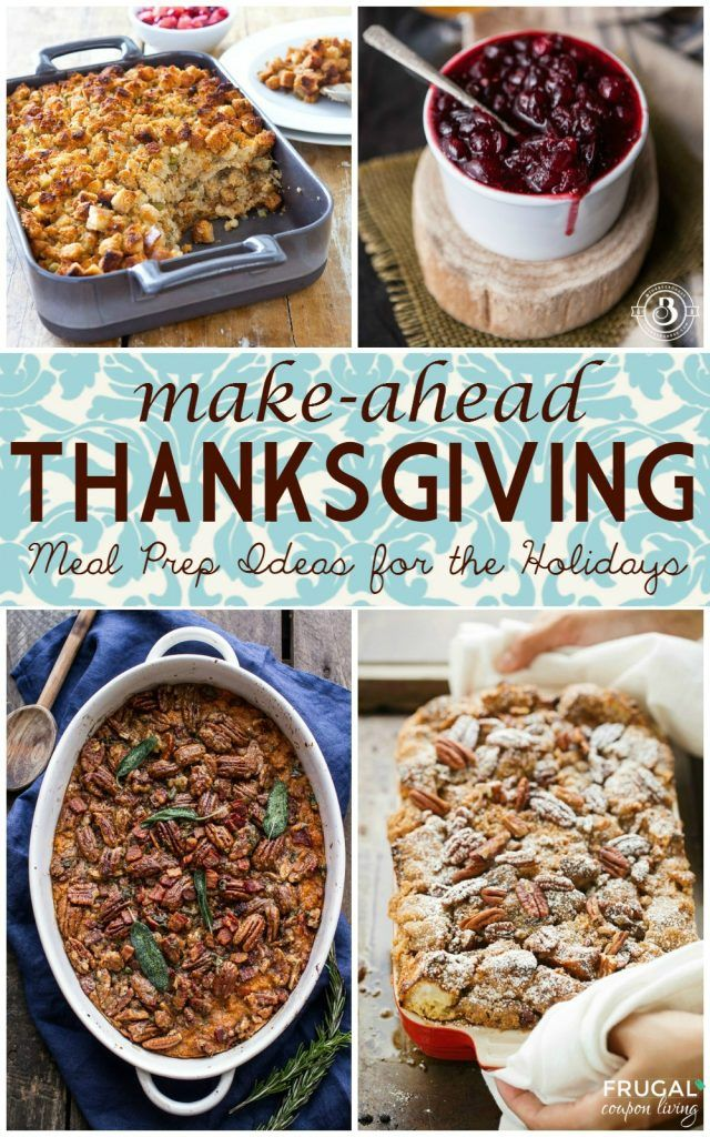 Make-Ahead Thanksgiving | Meal Prep Ideas for the Holidays