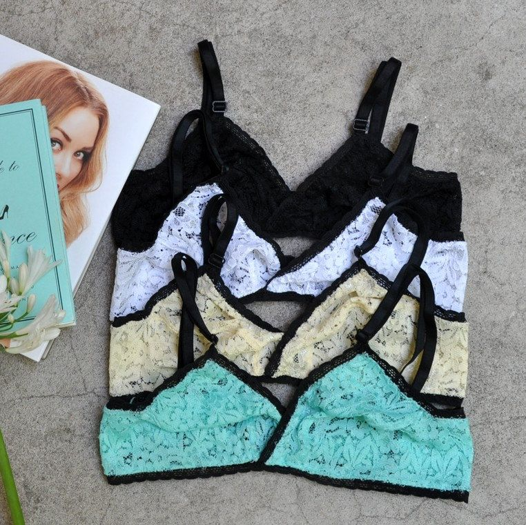 New Bralettes !! Take two different colors an get 15% off !! Use ILOVEWOW coupon!!  Only for january