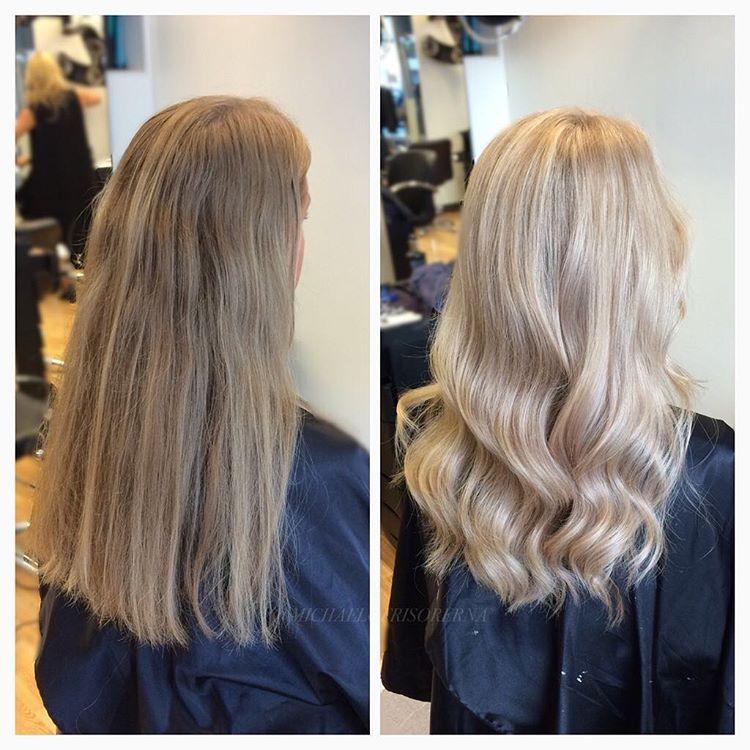 brun till blond