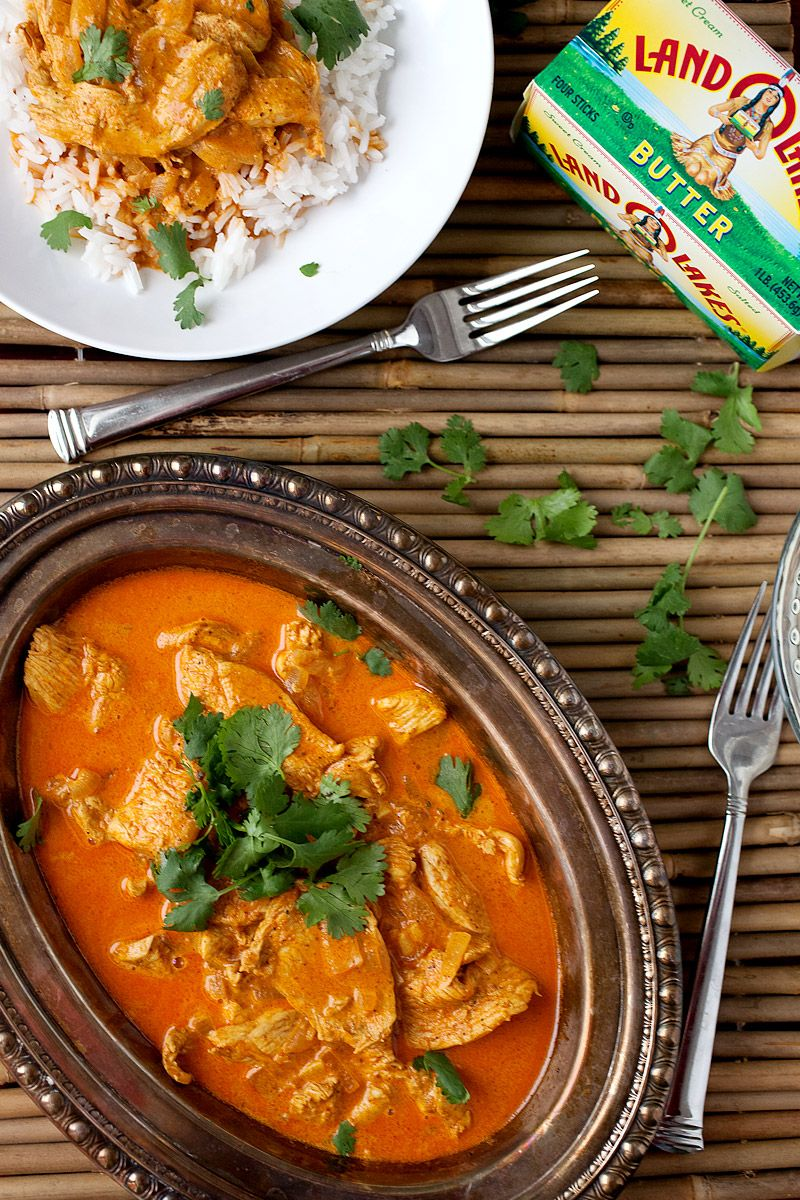 Easy butter chicken recipe perfect for weeknight