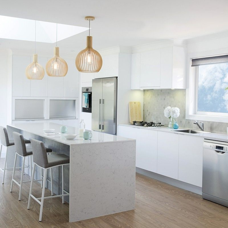 Fill The Gap In The Small Modern Kitchen Designs: Challenge House 2 Kitchen