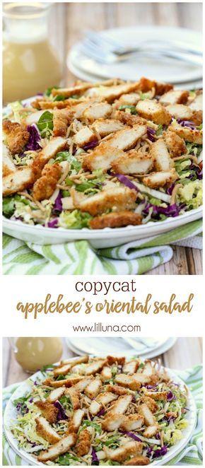 Applebees Oriental Chicken Salad  Recipe  Chicken Salad -1600